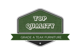 Grade A teak garden furniture