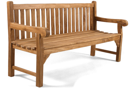 Lutyens Teak Bench for sale at Just Teak