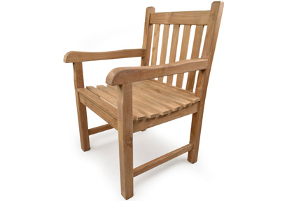 Sandringham arm chair for sale at Just Teak